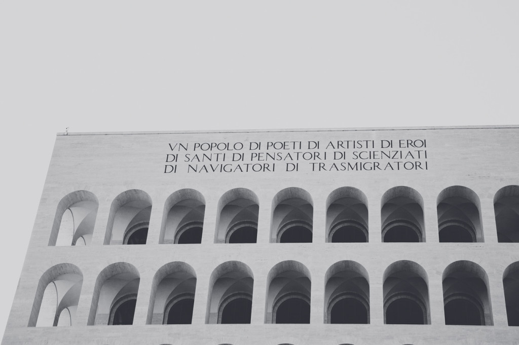 Eur, Roma. Colosseo Quadrato