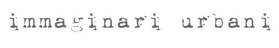 IMMAGINARI URBANI – OSSERVATORIO FOTOGRAFICO SUL PAESAGGIO URBANO logo